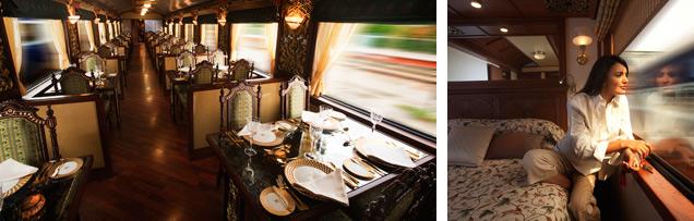 O mais famoso trem de luxo da Índia